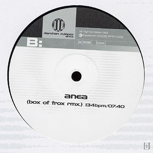 Darshan M. Lopez - Anea EP: Side B