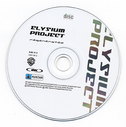 Elysium Project - Regenerated: CD