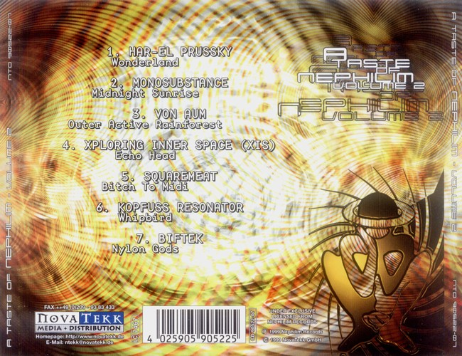 Various Artists - A Taste Of Nephilim 2: Back