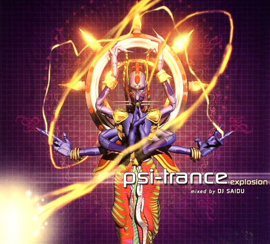 Various Artists - Psi Trance Explosion - Mixed by DJ Saidu: Front