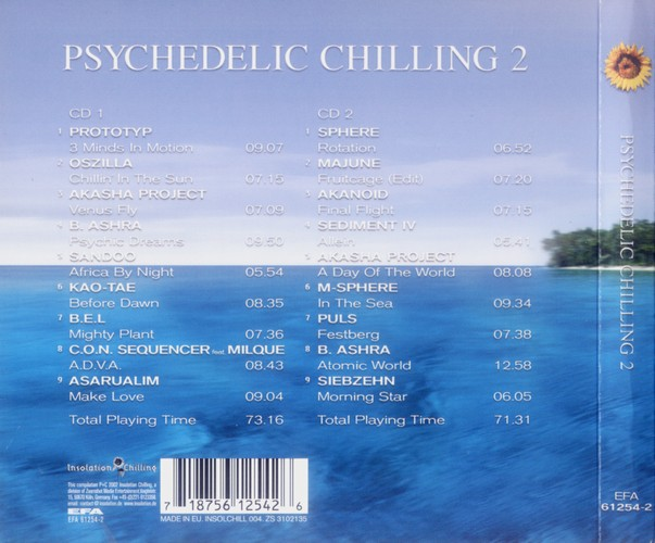 Various Artists - Psychedelic Chilling 2: Back