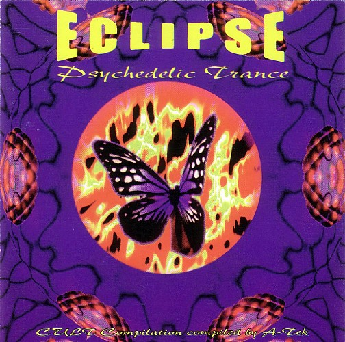 Various Artists - Eclipse Psychedelic Trance: Front