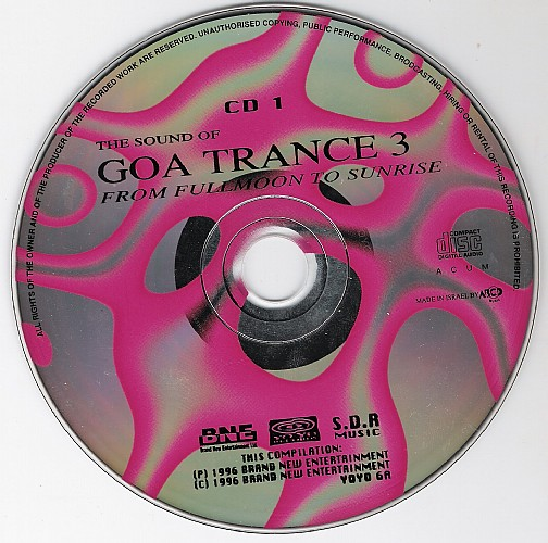 Various Artists - The Sound of Goa Trance 3: CD