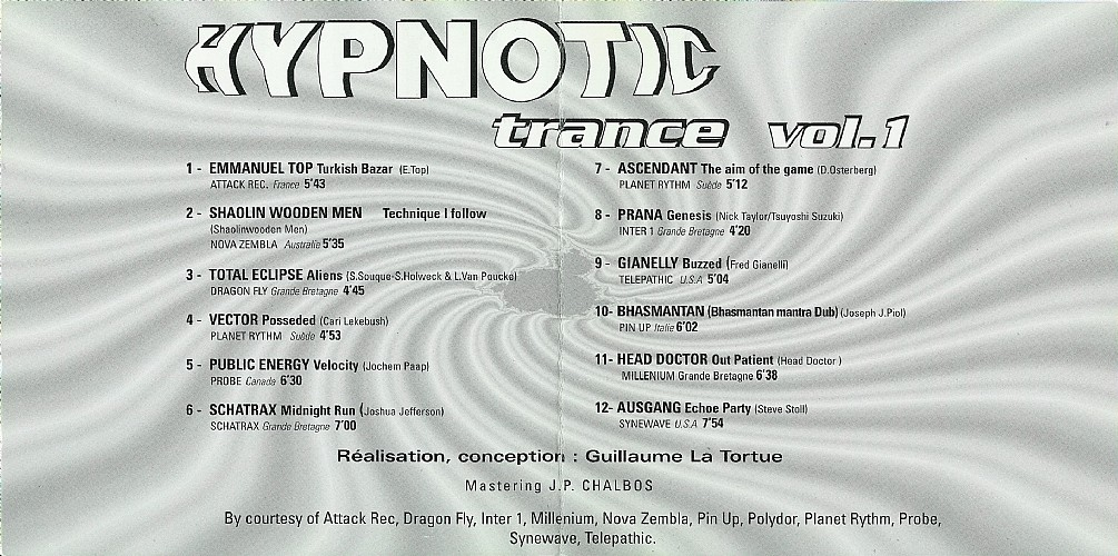 Various Artists - Hypnotic Trance 1: Inside