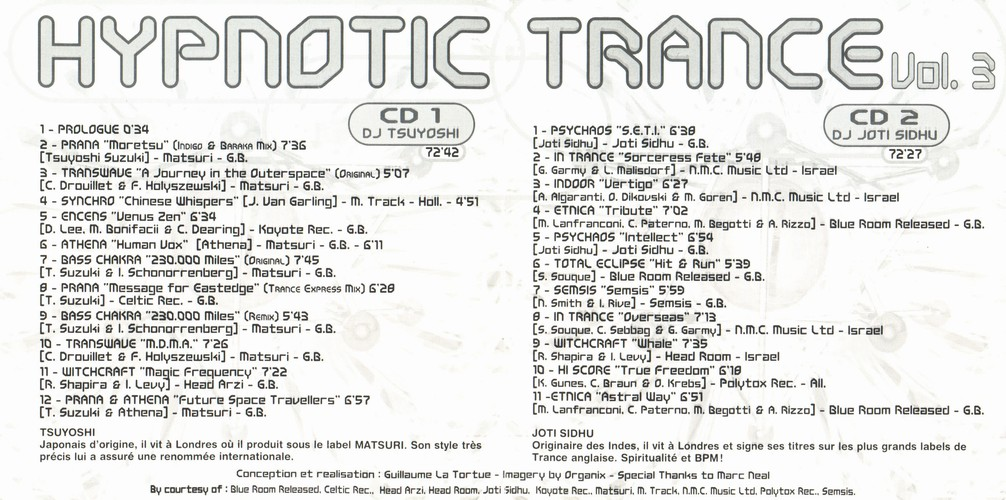 Various Artists - Hypnotic Trance 3: Inside