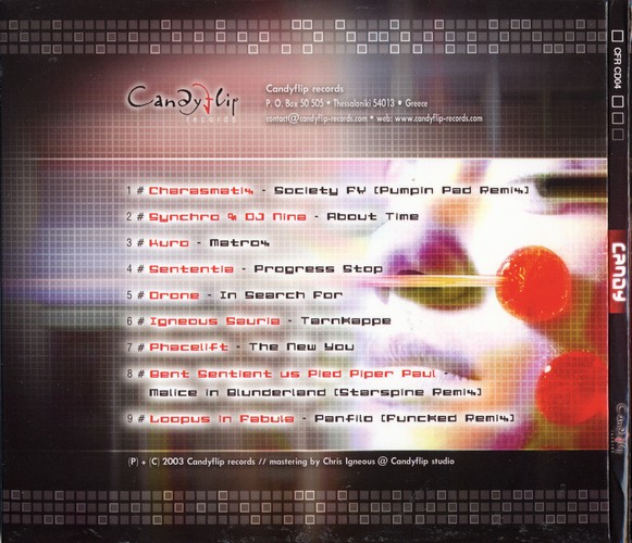 Various Artists - Candy: Back