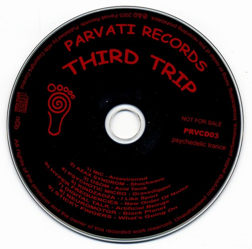 Various Artists - Third Trip: CD