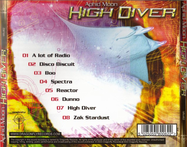 Aphid Moon - High Diver: Back