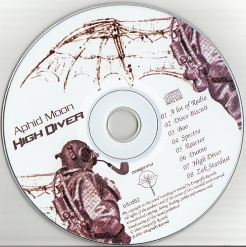 Aphid Moon - High Diver: CD