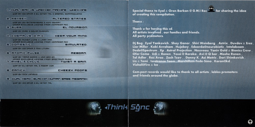 Various Artists - Think Sync: Inside