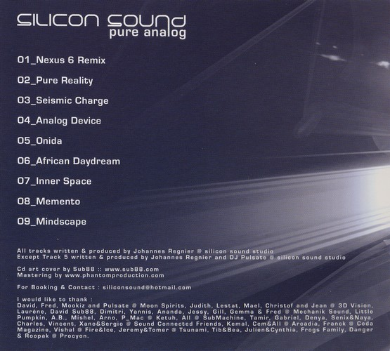 Silicon Sound - Pure Analog: Inside