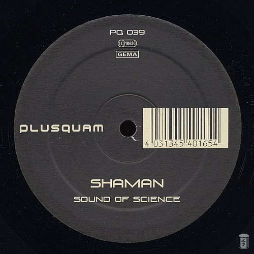 Shaman - Sound of science EP: Side B