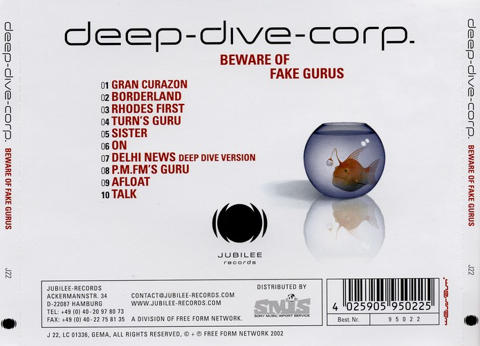 Deep Dive Corp. - Beware Of Fake Gurus: Back