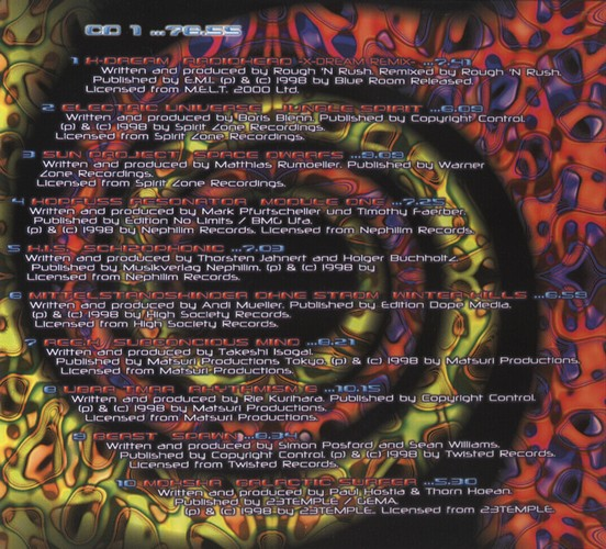 Various Artists - The Psychedelic Experience 1: Inside