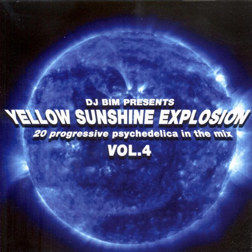 Various Artists - Yellow Sunshine Explosion 4 - Mixed by DJ Bim: Front