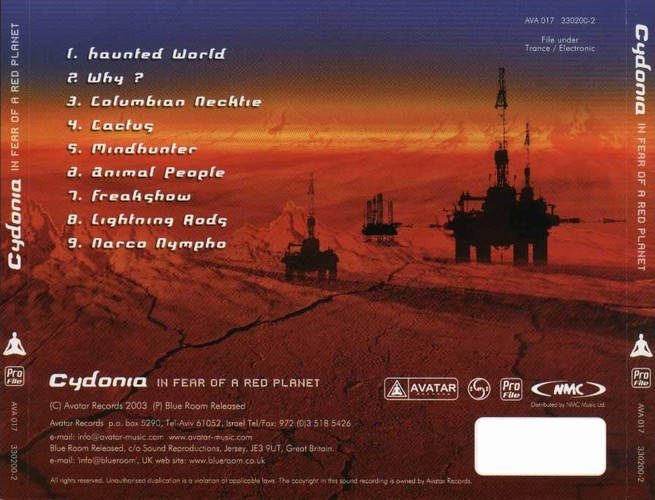 Cydonia - In Fear Of A Red Planet: Back