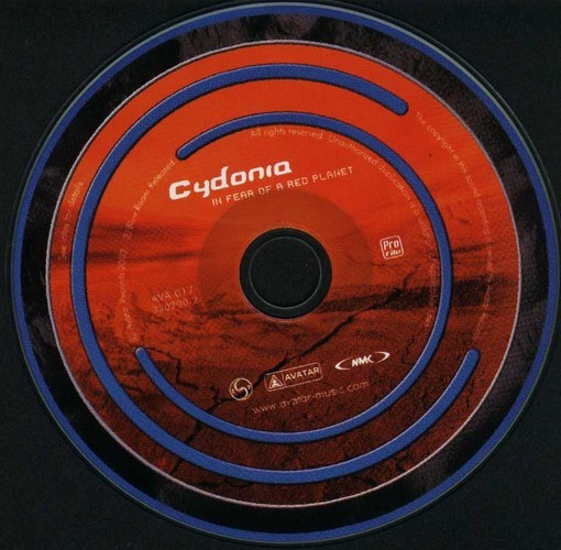 Cydonia - In Fear Of A Red Planet: CD
