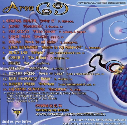 Various Artists - Area 69: Inside 2