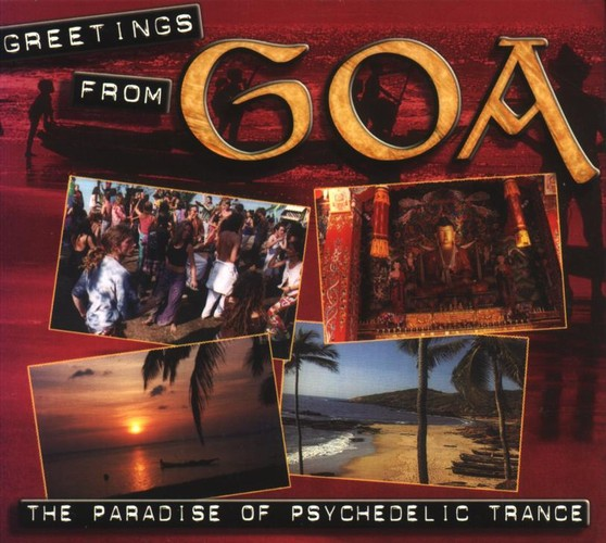 Various Artists - Greetings from Goa: Front