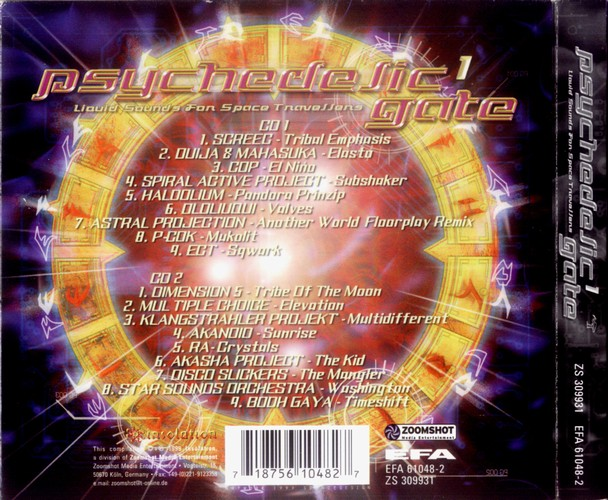 Various Artists - Psychedelic Gate 1: Back