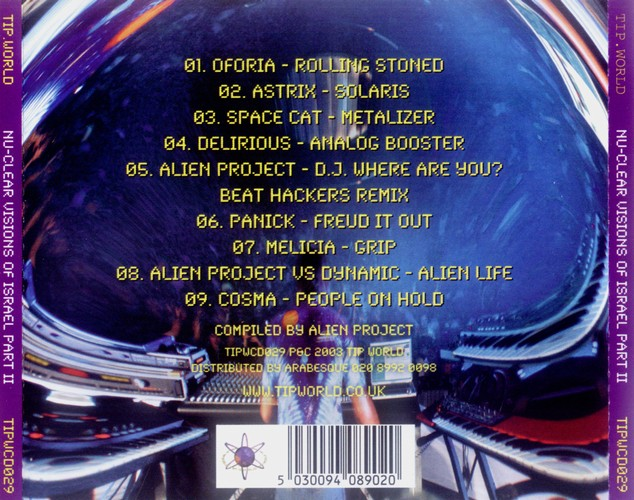 Various Artists - Nu-Clear Visions Of Israel 2: Back