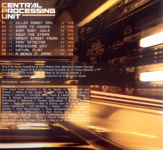 Central Processing Unit - Central Processing Unit: Inside
