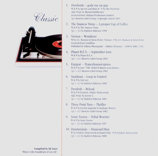 Various Artists - Classic Remix: Inside