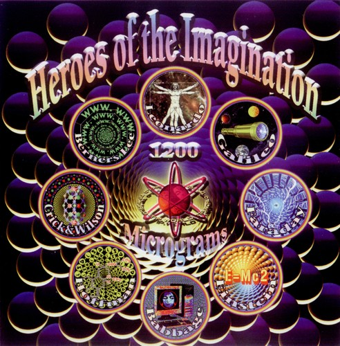 1200 Mics - Heroes Of The Imagination: Front