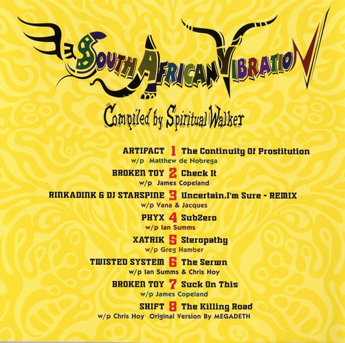 Various Artists - South African Vibration: Inside 2