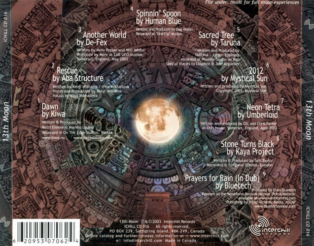 Various Artists - 13th Moon: Back