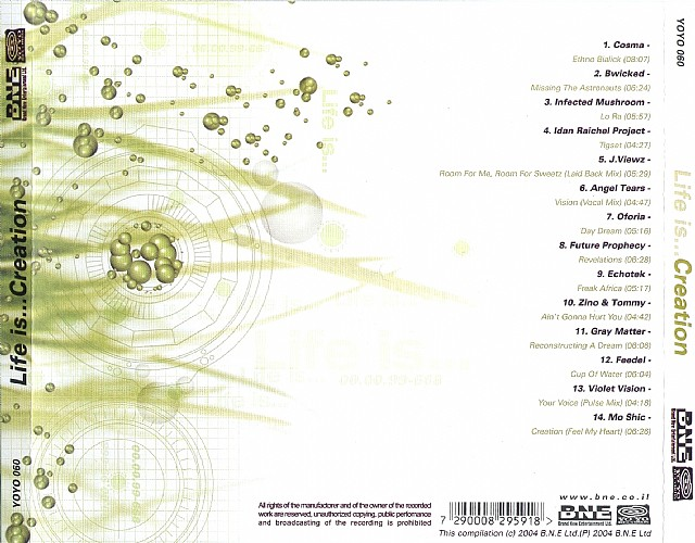 Various Artists - Life Is...Creation: Back