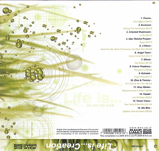 Various Artists - Life Is...Creation: Back 3