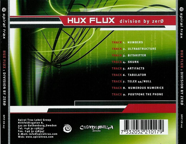 Hux Flux - Division By Zero: Back