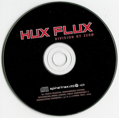 Hux Flux - Division By Zero: CD