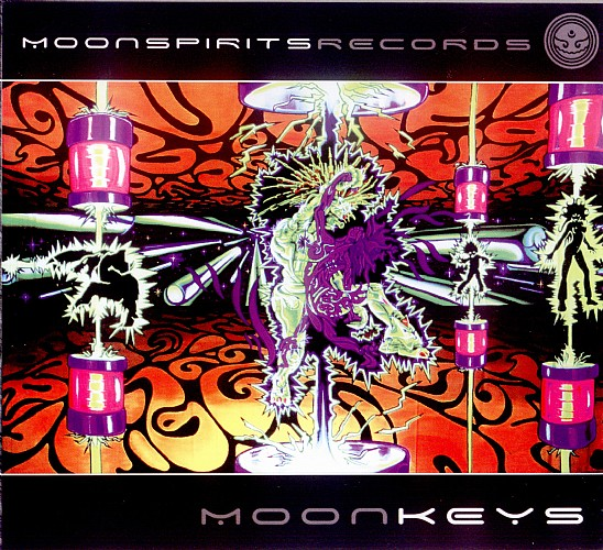 Various Artists - Moonkeys: Front