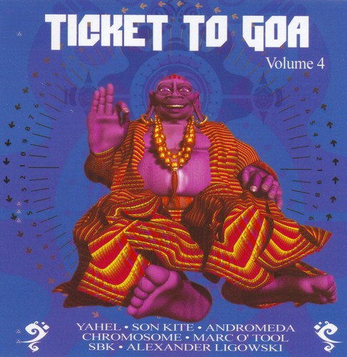 Various Artists - Ticket to Goa 4: Front