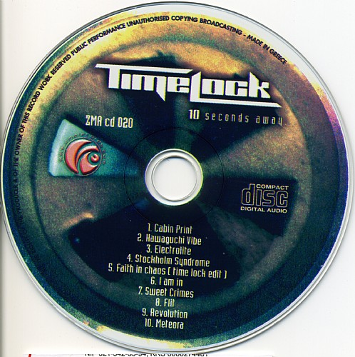 Time Lock - 10 Seconds Away...: CD