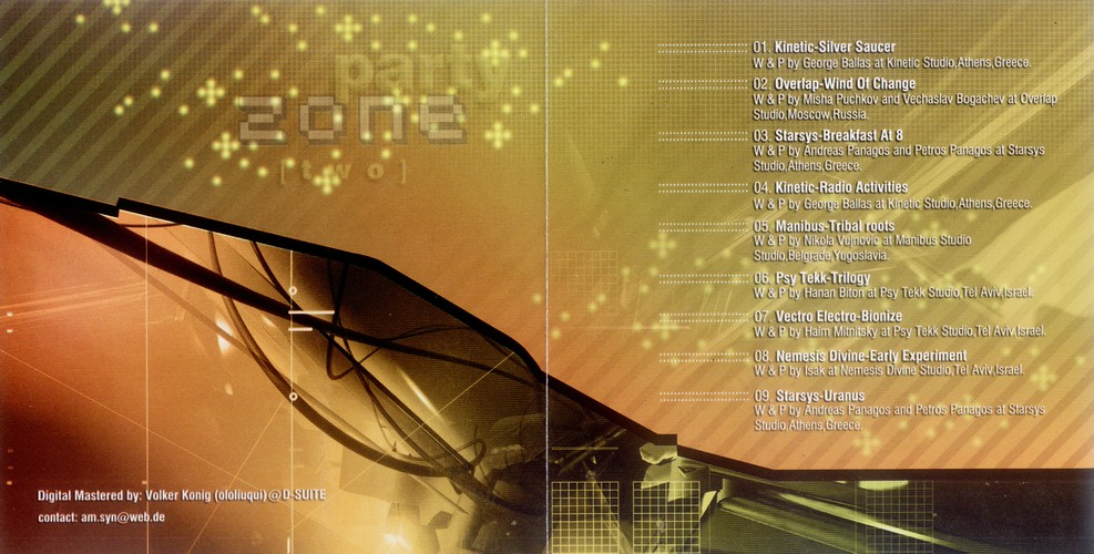 Various Artists - Party Zone Two: Inside