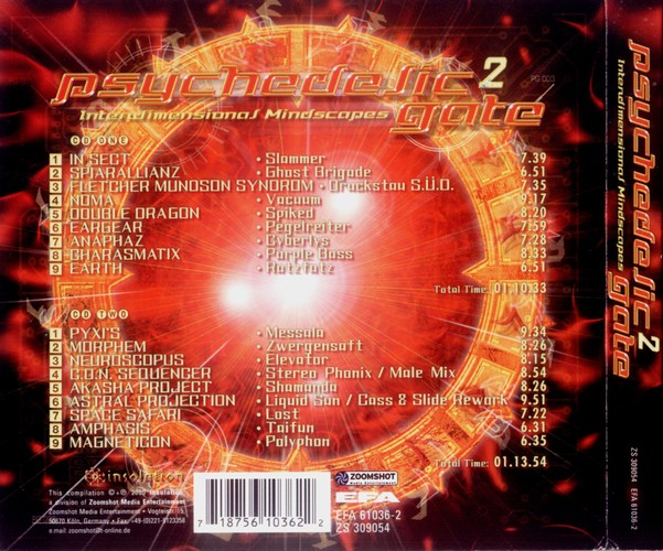 Various Artists - Psychedelic Gate 2: Back
