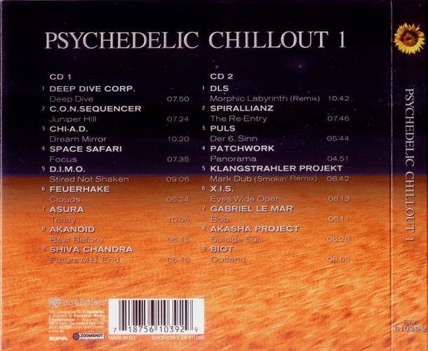 Various Artists - Psychedelic Chillout: Back