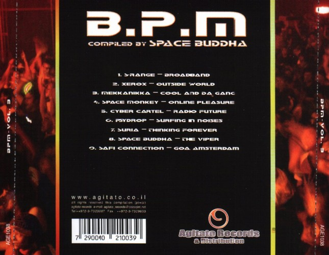 Various Artists - BPM: Bionic Pulse Method 3: Back