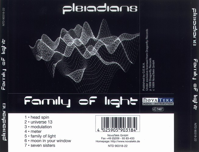 Pleiadians - Family of Light: Back