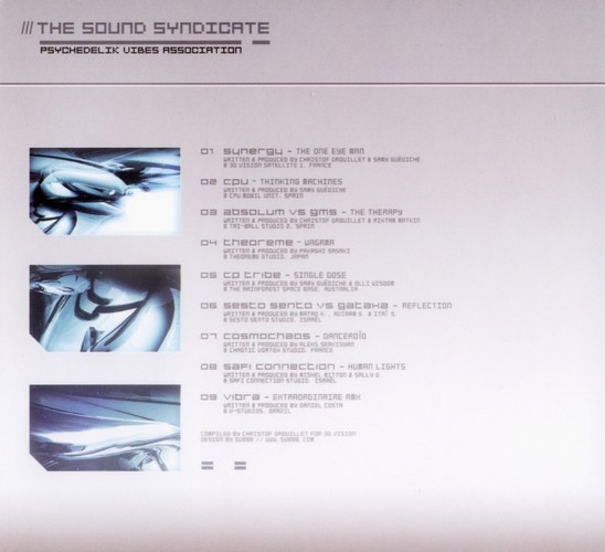 Various Artists - The Sound Syndicate: Inside