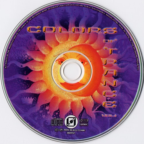 Various Artists - Colors of Trance: CD