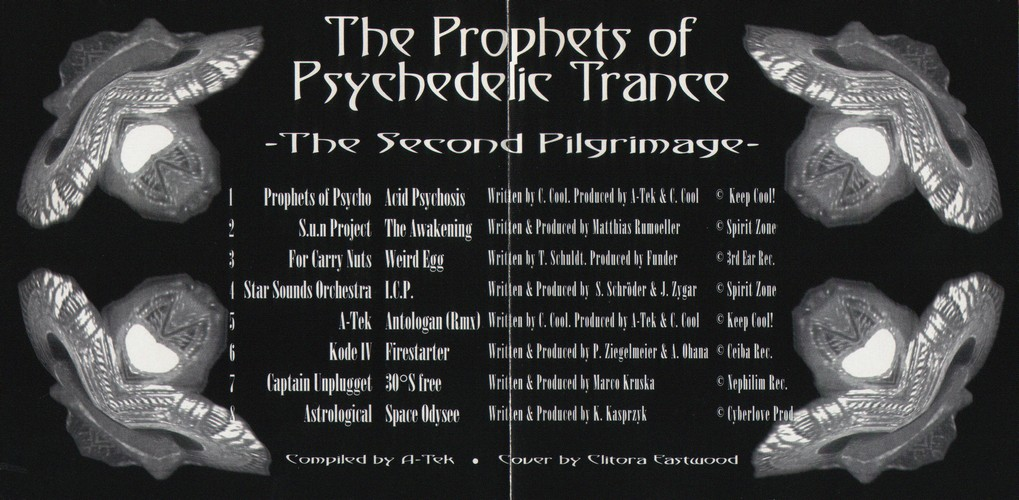 Various Artists - The Prophets of Psychedelic Trance - Second Piligrimage: Inside