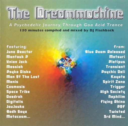Various Artists - The Dreammachine: Front