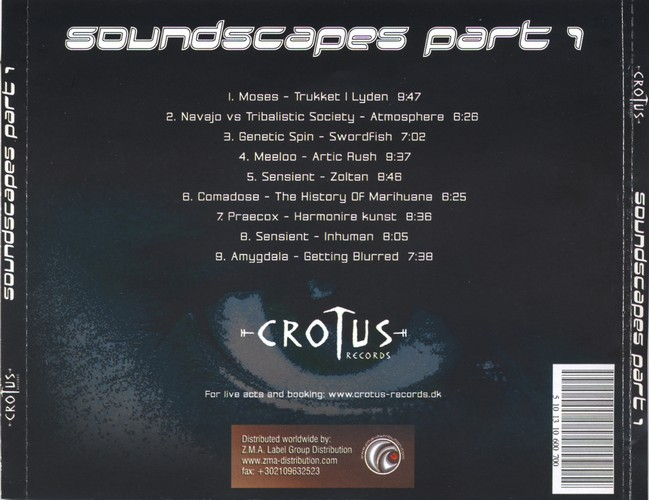 Various Artists - Soundscapes Part 1: Back
