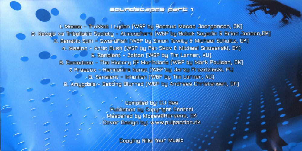 Various Artists - Soundscapes Part 1: Inside