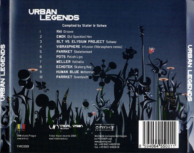 Various Artists - Urban Legends: Back