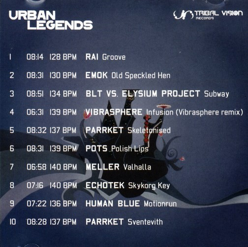 Various Artists - Urban Legends: Extra